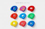 سری جدید آیکون های شبکه اجتماعی